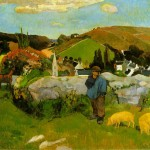 The-Swineherd-Paul-Gauguin-1888