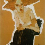scornful Woman - Egon Schiele - 1910