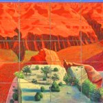 A Bigger Grand Canyon, 1998 oil on 60 canvases, National Galleiy of Australia