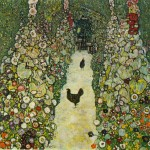 Garden-Path-With-Chickens-Gustav-Klimt-1916