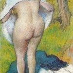 Girld-Drying-Herself-Edgar-Degas-1885