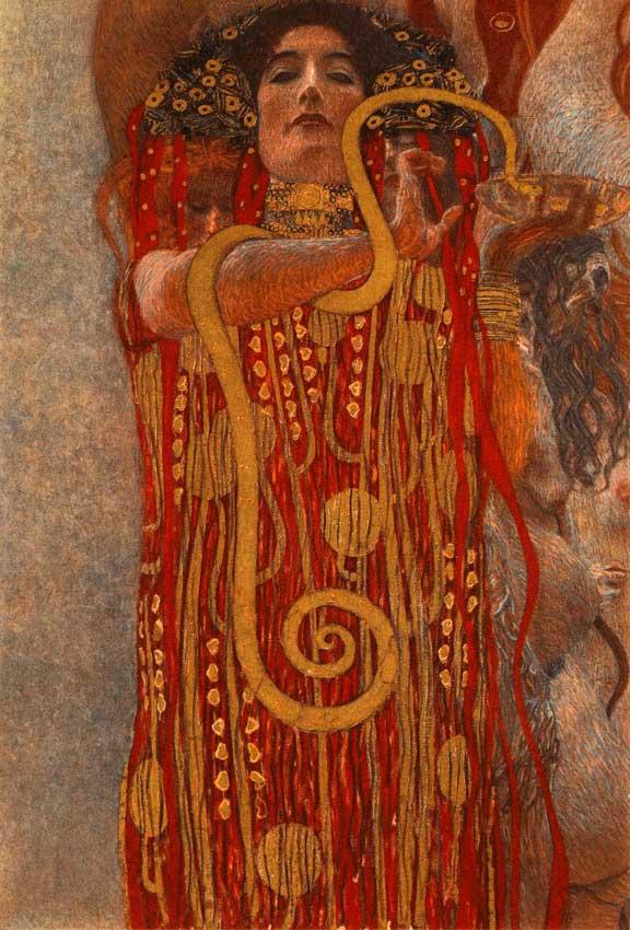 Hygieia Gustav Klimt 1907