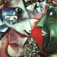 I-and-the-Village-Marc-Chagall-1911