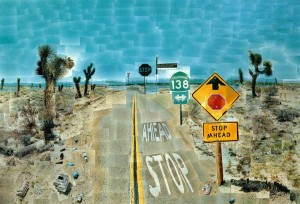 David Hockney: Painting/Photo Collage