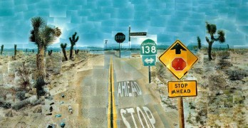 David Hockney: Painting/Photo Collage