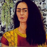 Self-Portrait-with-Loose-Hair-Frida-Kahlo-1947