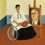 Self-Portrait-with-the-Portrait-of-Dr-Farill-Frida-Kahlo-1951