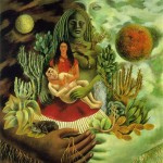 The-Love-Embrace-of-the-Universe-the-Earth-Me-and-Senor-Xolotl-Frida-Kahlo-1949