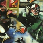 The-Soldier-Drinks-Marc-Chagall-1911-1912
