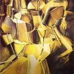 Trasition-of-Virgin-into-a-Bride-Marcel-Duchamp-1912