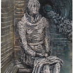 Woman Seated in the Underground-Henry Moore-1941