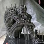 Park Chan Girl: Metal Sculpture