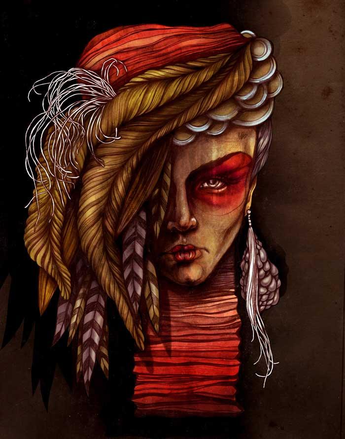 Sara Blake: 2011 Illustration