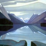 Maligne-Lake-Jasper-Park-Lawren-Harris-1924