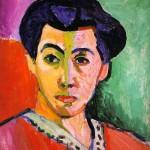 Portrait-of-Madame-Matisse-Henri-Matisse-1905