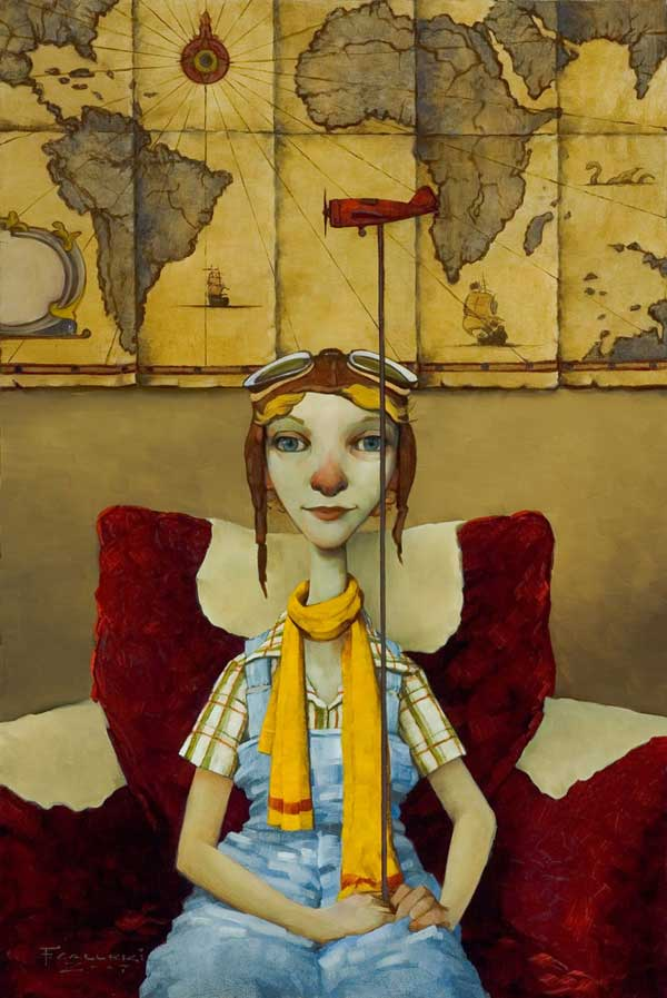 Fred Calleri: Illustration