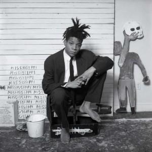Jean-Michel Basquiat - portrait