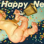 J.C. Leyendecker: New Year's Baby