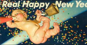 J.C. Leyendecker: New Year's Baby