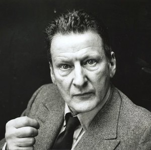 Lucien Freud - photo by Jane Brown