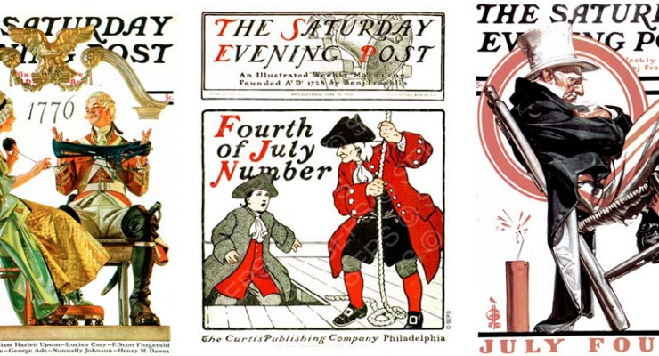 Fourth of July: Saturday Evening Post Covers