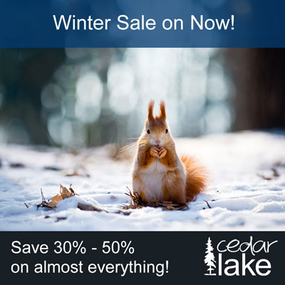 Cedar Lake Winter Sale
