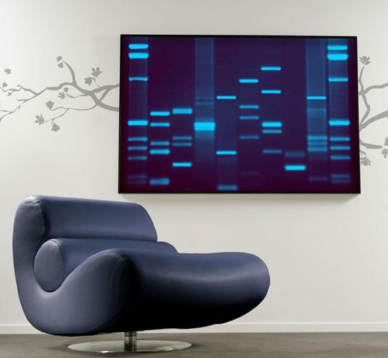 DNA Art: Genetic Self Portrait