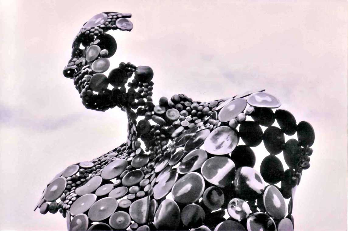 stephen fitz gerald metal sculpture daily art fixx