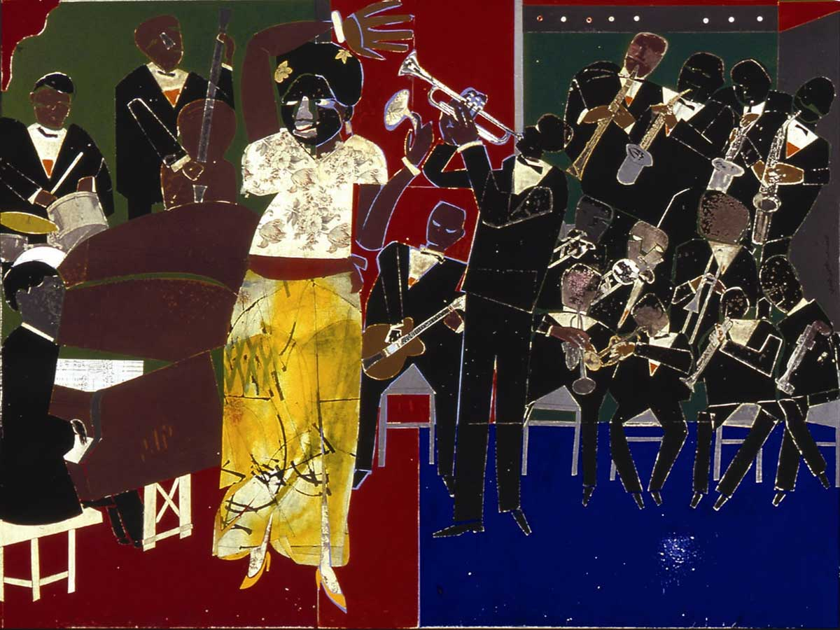 Romare Bearden: 1911 - 1988 - Mixed Media
