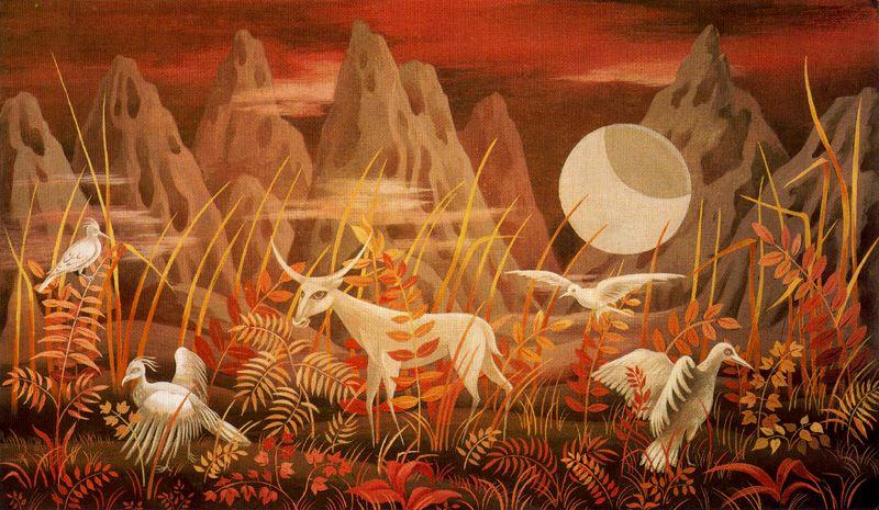 Remedios Varo - Valle de la Luna - 1950