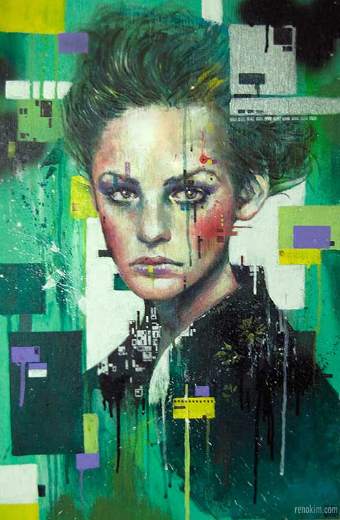 Minjae lee illustration painting daily art fixx for Lee s painting