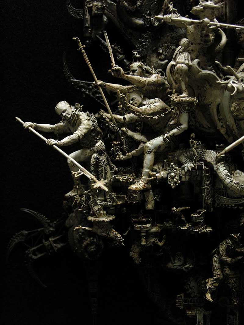 Ode To Herculaneum Detail 2 Kris Kuksi Daily Art Fixx