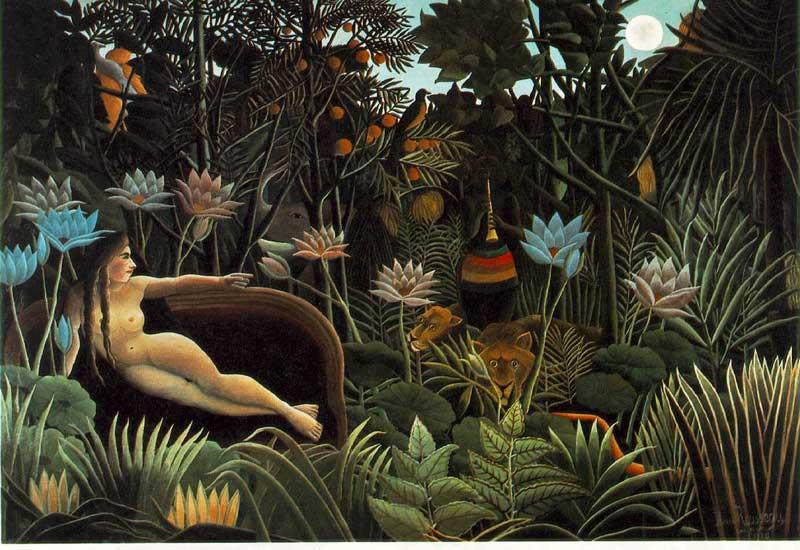Henri Rousseau: 1844 - 1910