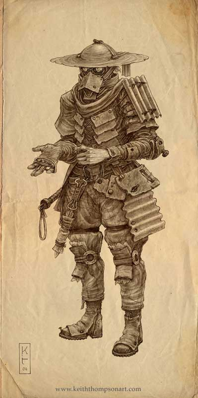 Character Design Techniques Keith Thompson : Keith thompson concept art daily fixx