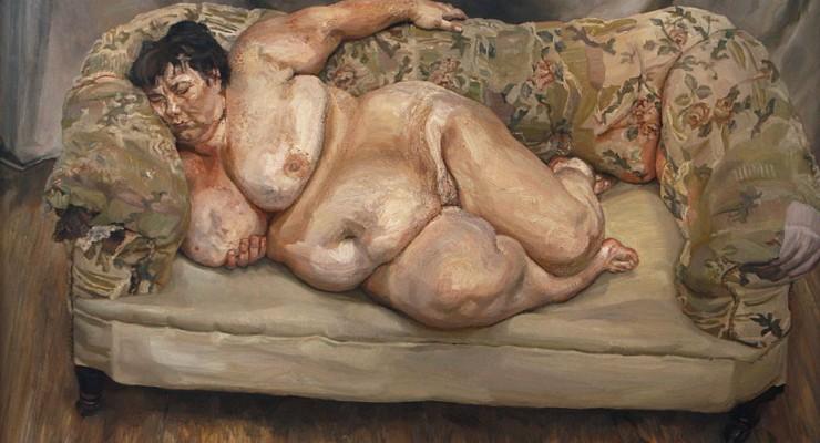Lucian Freud - Benefits Supervisor Sleeping - 1995