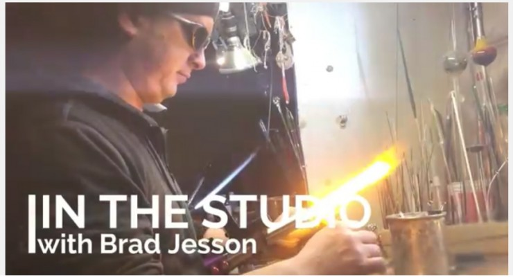 In the Studio with Flameworker Brad Jesson
