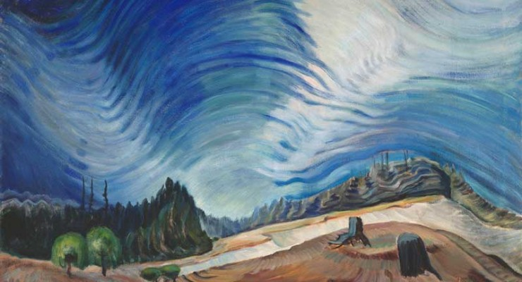 Emily Carr - Above the Gravel Pit - 1937 - Vancouver Art Gallery